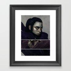 The Historian.  Framed Art Print