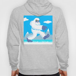 Cartoon yeti Hoody