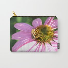 The wasp on the flower Carry-All Pouch