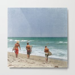 The Boys of Summer Metal Print
