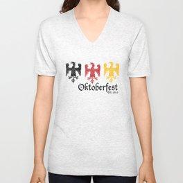 Oktoberfest Est. 1810 Unisex V-Neck