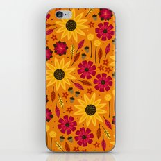 Fall is in th Air iPhone Skin