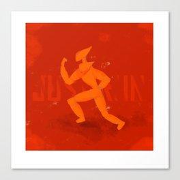 Just Run Canvas Print