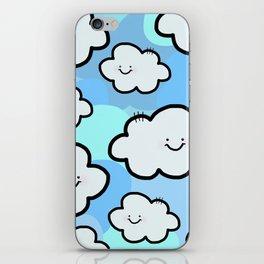 Cheery Cloud Cluster iPhone Skin