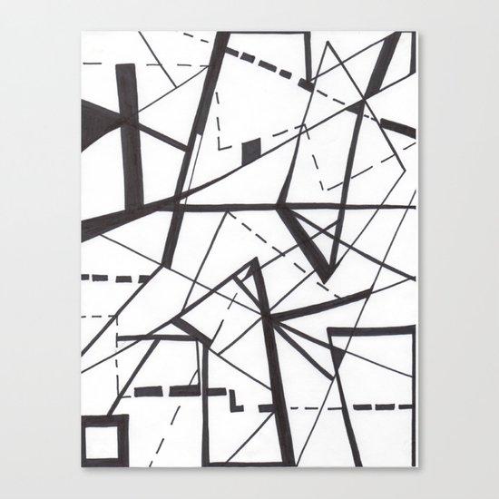 sharp Canvas Print