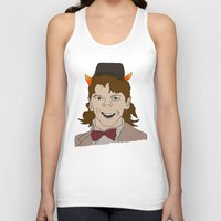 fandom Tank Tops featuring Fandom Monster by Dansparce