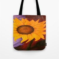 sister Tote Bags featuring Sister by Jessica Nicole Pacheco