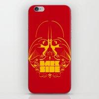 dark side iPhone & iPod Skins featuring Dark Side by francescoporoli