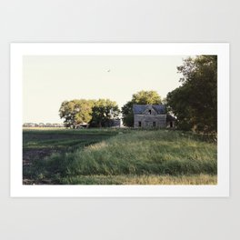 Gone for Good Art Print