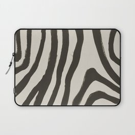 Painted Zebra Laptop Sleeve