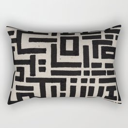 Trip Hop In The City Rectangular Pillow