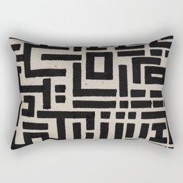 Trip Hop In The City Rectangular Pillow