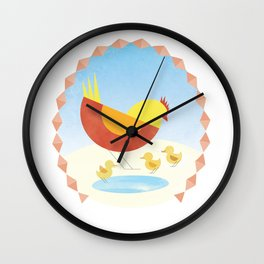 Interspecial love  Wall Clock