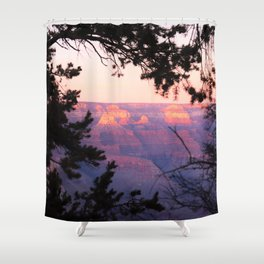 Sunset at Grand Canyon 2 Shower Curtain