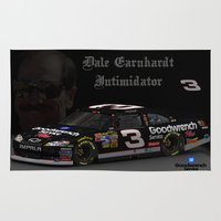 dale cooper Area & Throw Rugs featuring Dale Earnhardt by ernhrtfan