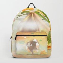 Duft der Blume - farbig Backpack