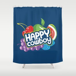 Jolly Ranchers Are Just Happy Cowboys Shower Curtain