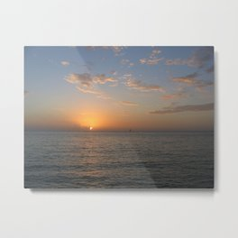 Mexican Sunset Metal Print