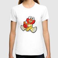elmo T-shirts featuring Baby Elmo & Dorothy by BinaryGod.com