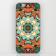 Textured Pastels Mandala iPhone & iPod Skin