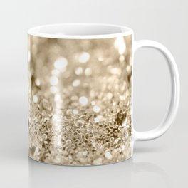 Champagne Gold Lady Glitter #1 #shiny #decor #art #society6 Coffee Mug