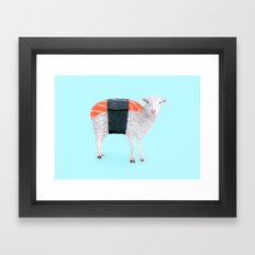 SUSHEEP Framed Art Print