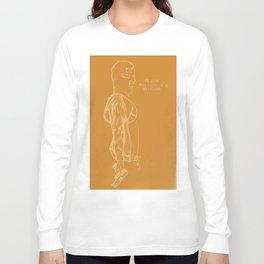 Spring Breakers/Vampire Weekend (Orange) Long Sleeve T-shirt