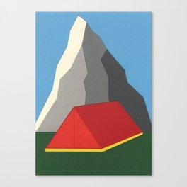 Camp Mount Whitney Canvas Print