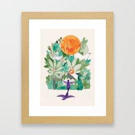 Ange est elle Framed Art Print