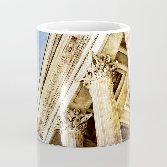 Ancient Roman Temple Coffee Mug