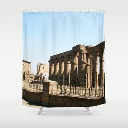 Temple of Luxor, no. 30 Shower Curtain