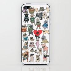 Pugs iPhone & iPod Skin