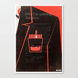Mad Men Poster Print Canvas Print