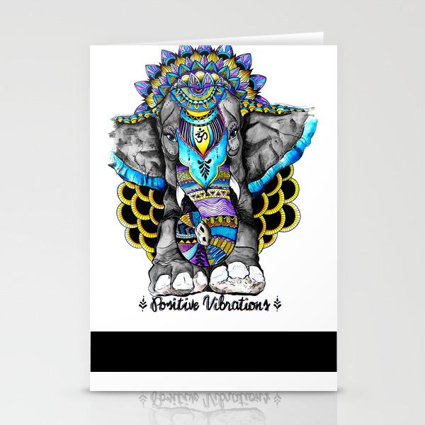 Positive Vibrations Stationery Cards by Heyemilydee CRD9031427