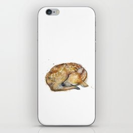 Sleeping Fawn iPhone Skin