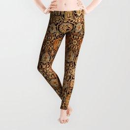 Antique Persian Malayer Rug Print Leggings