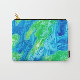 Blue & Green So Clean Carry-All Pouch