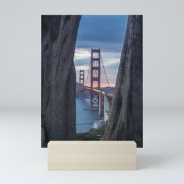Golden Gate Bridge Vantage Point Mini Art Print