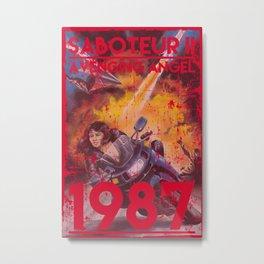 Saboteur II Metal Print