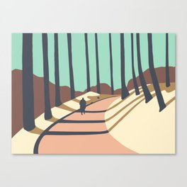 Natural Park Košíře-Motol Canvas Print