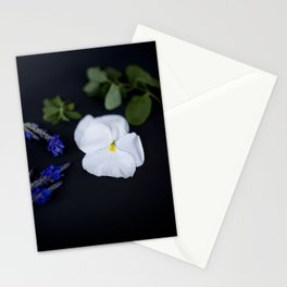 Lavandula and a Pansy Stationery Cards