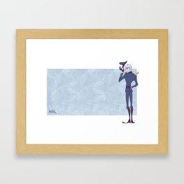 APH: Guten tag Framed Art Print