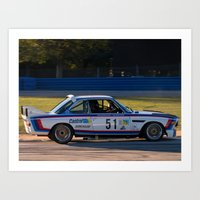 bmw Art Prints featuring BMW by Trackography