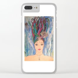 Daughter of the Deep Clear iPhone Case