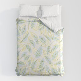 Wind and feathers Duvet Cover