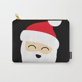 Smiling Santa Face Carry-All Pouch