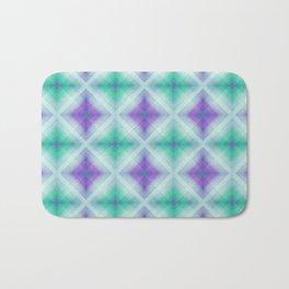 Pattern squares purple Bath Mat