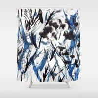flight Shower Curtains featuring FLIGHT by Teresa Chipperfield Studios