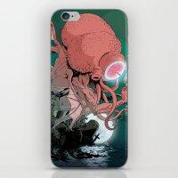 cthulhu iPhone & iPod Skins featuring cthulhu by Nahum Ziersch