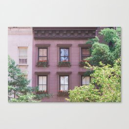 Summer on the Upper East Side Canvas Print